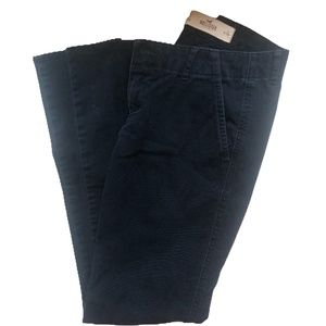 Hollister Navy Skinny Pants